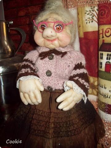 Текстильная кукла.  фото 4
