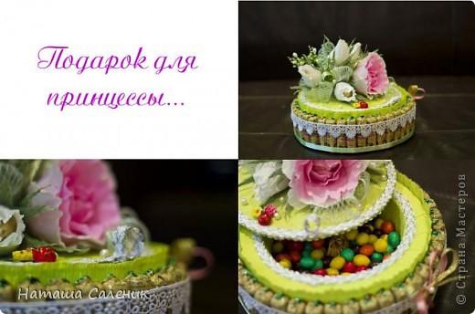 Тортик для маленькой принцессы фото 1