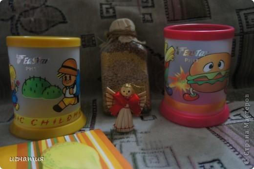 пошила себе вот такого ангелочка с ароматом кофе и корицы с вот таким вот деревцем:)) фото 5