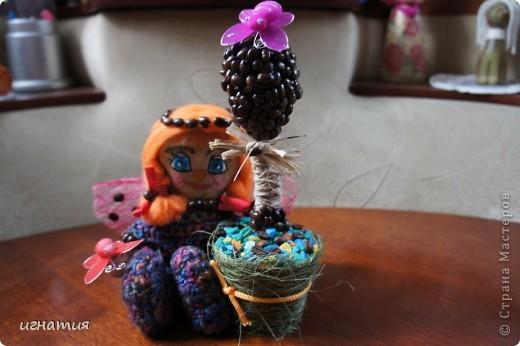 пошила себе вот такого ангелочка с ароматом кофе и корицы с вот таким вот деревцем:)) фото 3