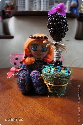 пошила себе вот такого ангелочка с ароматом кофе и корицы с вот таким вот деревцем:)) фото 1