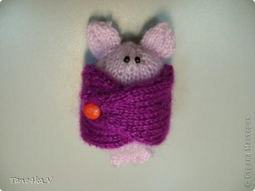 Летучая мышка :) амигуруми :) Крылышки на пуговке фото 1