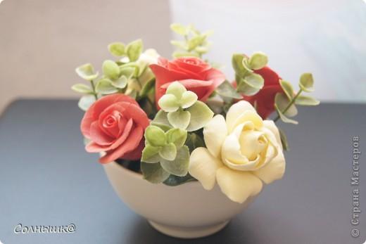 Розы и гардении фото 1