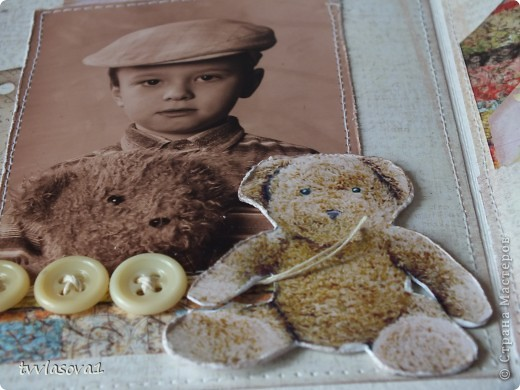 это открыточка про  старшего моего племянника...Сейчас-то он уже взрослый-20 лет...а это память из детства... фото из той же серии,что и предыдущая открытка ...но здесь  моему мальчику 5 лет...и потому дизайн посерьезней! хотя тоже - ничего сложного... фото 2