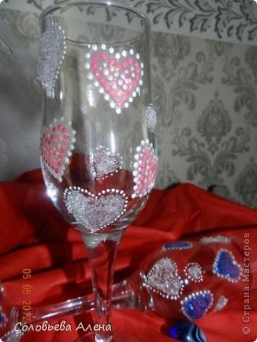 Идея была такая: два сердца, но все почему-то видят восьмёрку ))) фото 5