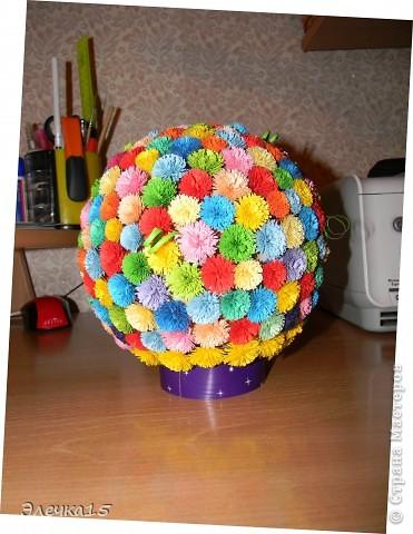 Цветочный шар:)