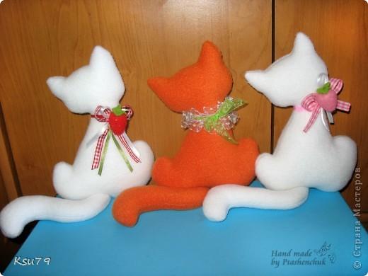 мои любимые котейки по выкройке Настиной бабушки  http://stranamasterov.ru/node/42548 фото 6
