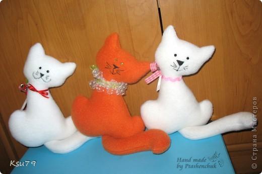 мои любимые котейки по выкройке Настиной бабушки  http://stranamasterov.ru/node/42548 фото 7