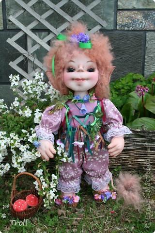 "Trollik ""Blommi"" ot norvezhskogo ""blomst""-cvetok фото 1"
