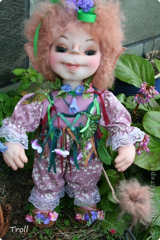 "Trollik ""Blommi"" ot norvezhskogo ""blomst""-cvetok фото 9"