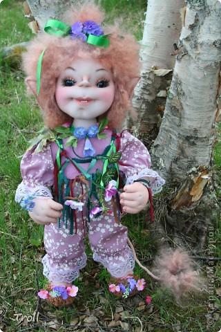 "Trollik ""Blommi"" ot norvezhskogo ""blomst""-cvetok фото 8"