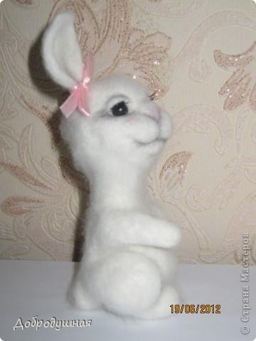 маленькая и беззащитная зайка. сделала в свой собственный день рождения =))) взгрустнулось мне что-то тогда....  фото 7