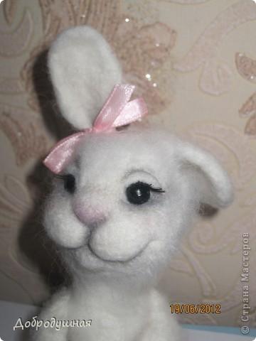 маленькая и беззащитная зайка. сделала в свой собственный день рождения =))) взгрустнулось мне что-то тогда....  фото 10