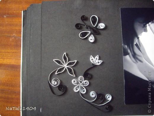 Элементы квиллинга для украшения фотоальбома фото 3