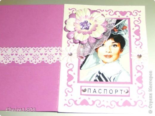 Обложка на паспорт фото 1