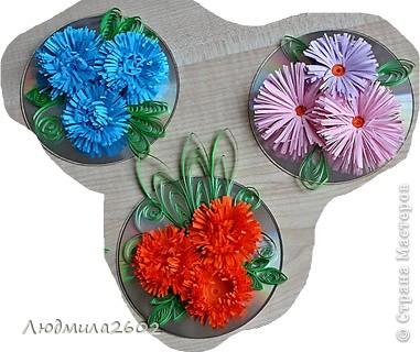 Цветы делала благодаря МК в Стране Мастеров, только не помню у кого стащила идею.