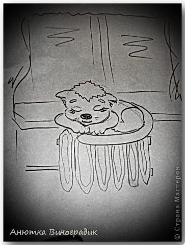 Ёжик. Плачет ёжик от сомненья, У него в душе волненья И стихи готов писать Ручкой в тонкую тетрадь. фото 2