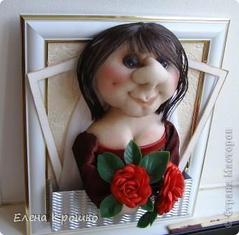 Шаржевая кукла