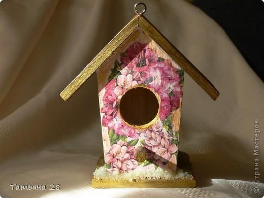 Благодаря одной птахи( спасибо за идею) появился скворечник!!!!! фото 1