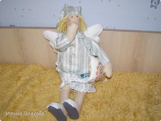 """Тильда """"Сонный ангел""""  Первая, но явно не последняя)) фото 1"""