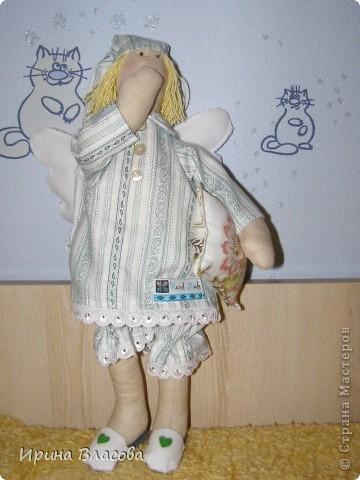 """Тильда """"Сонный ангел""""  Первая, но явно не последняя)) фото 2"""