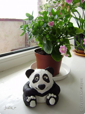 Доброе утро всем мастерицам!!!Вот такую панду хочю вам показать,конечно еще без лака))) фото 4
