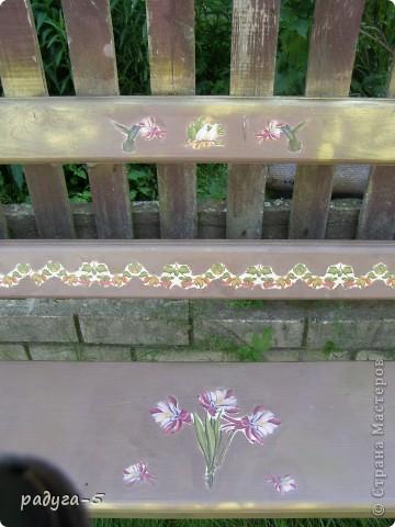 скамейка фото 3