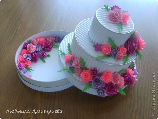 Такие тортики (уже два) были подарены на день рождение коллеги и дочери фото 2