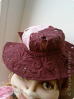 Кукла Ариша с применением машинной вышивки. фото 6