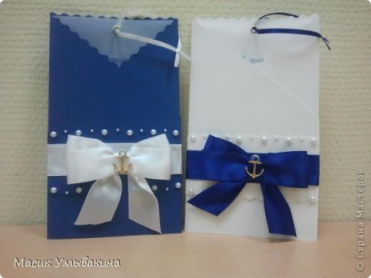 Приглашения на свадьбу в морском стиле! фото 1