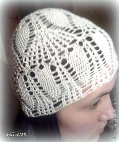 летняя шапочка фото 1