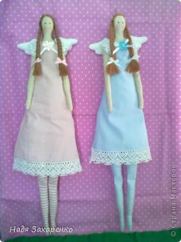 Однажды появились на свет Ангелочки - близняшки. фото 4