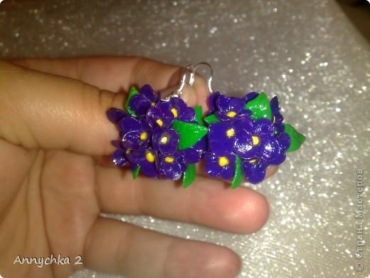 лепила полдня)) наконец закончила! вот только на фото цвет синий, а так цветочки фиолетовые.  фото 1