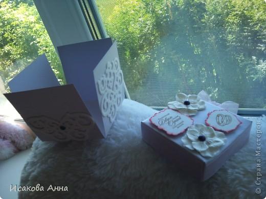 вот такая коробочка для денег и маленького подарочка на свадьбу фото 3