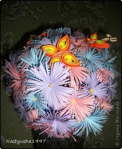 Мой цветочный шар) фото 2