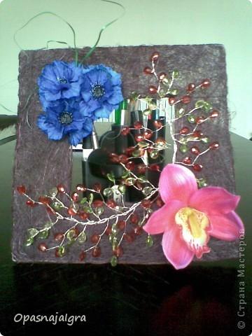 """Панно""""Орхидея"""" фото 1"""