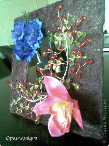 """Панно""""Орхидея"""" фото 2"""