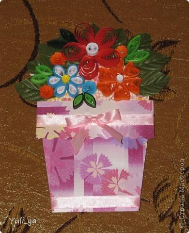 коробочка для подарунка і листівочки фото 6