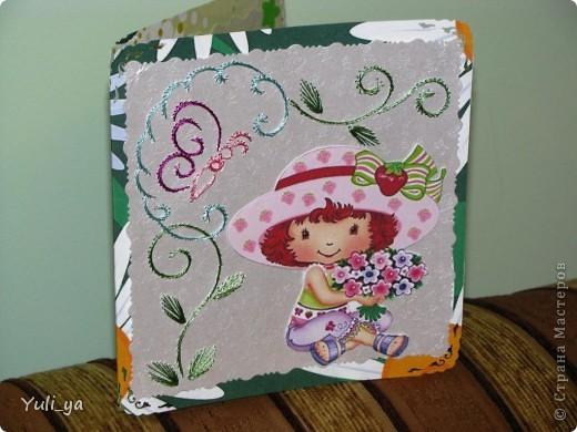 коробочка для подарунка і листівочки фото 4