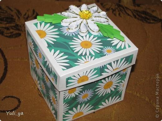 коробочка для подарунка і листівочки фото 2