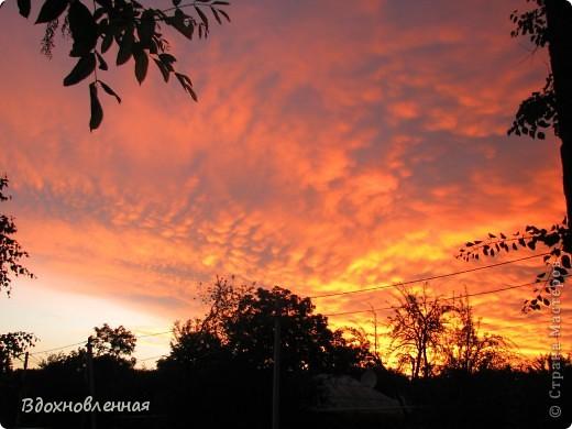 Небо после урагана 15,06,2012 фото 1