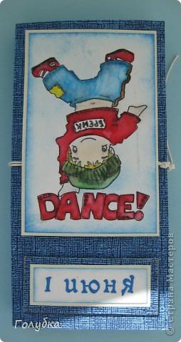 Вот такая открытка  получилась в качестве пробы раскрасить   картинку Schoffie's Collection- Skating. Вдохновилась открыткой от Nellie Snellen фото 8