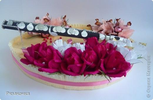 Всем привет! Заказ для девушки флейтистки на ДР.  фото 5