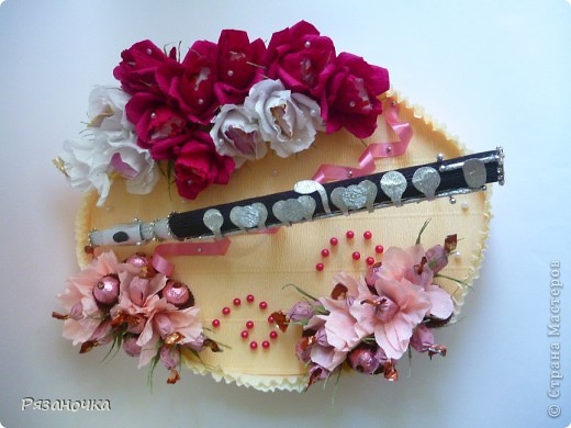 Всем привет! Заказ для девушки флейтистки на ДР.  фото 1