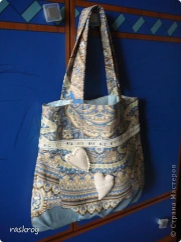 Летняя сумка (фото плохое, но я думаю , замысел понятен). фото 1