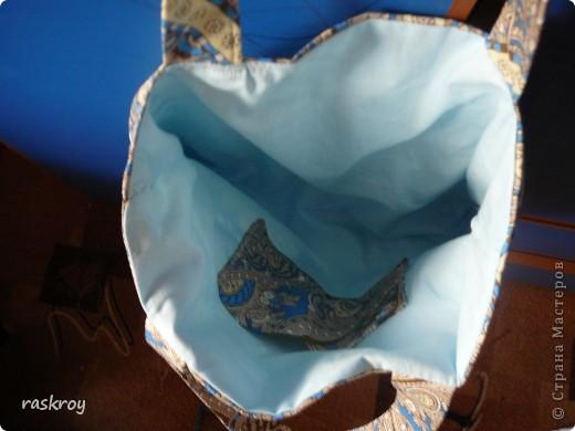 Летняя сумка (фото плохое, но я думаю , замысел понятен). фото 2