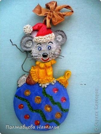Мышка на шаре фото 1