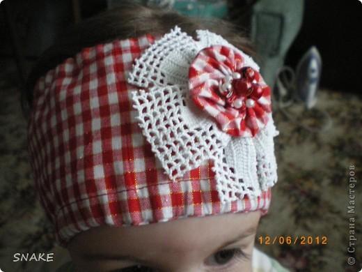 Повязочки для моих девчонок фото 3