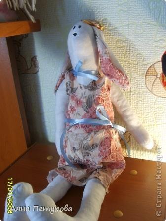 Мышка тильда и подушечка для нее)) фото 2