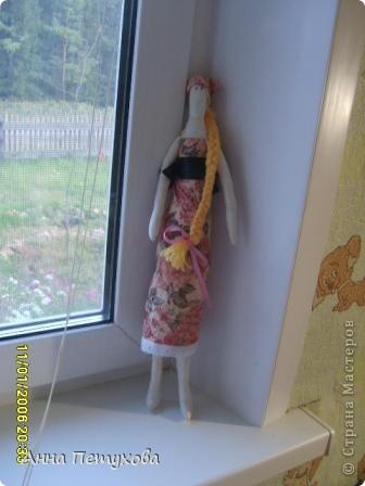 Мышка тильда и подушечка для нее)) фото 5